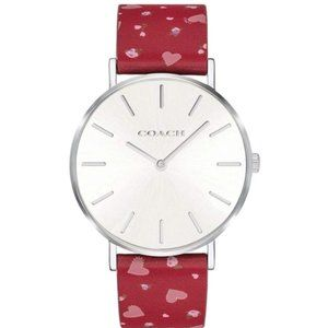 NWT COACH watch Perry Multicolor for womens